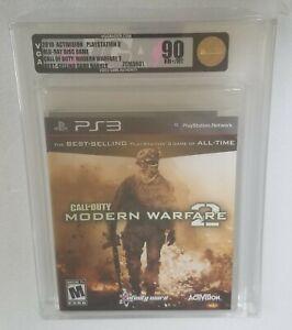 VGA 90 (Gold) Call of Duty Modern Warfare 2 MW2  PlayStation 3 PS3 WATA 9.4 Rare