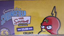 SIMPSONS SPRINGFIELD LIMITED SERIES 5 FIGURINE COLLECTION SEALED BOX 24 FIGURES