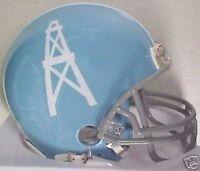 Houston Oilers 1960-1962 Riddell Throwback NFL Football Mini Helmet New in Box
