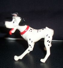 Dalmatian Toy Dog Hard Plastic Poses in Many Positions Cake Topper Vintage