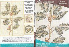 Anita Goodesign Oak Branch Tile Scene Embroidery Machine Design CD 231AGHD