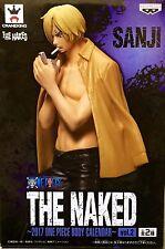 ONE PIECE THE NAKED SANJI BLACK BODY CALENDAR Vol. 2 FIGURA FIGURE NEW NUEVA