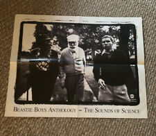 Beastie Boys - Sounds Of Science 11x17 Promo Poster. Mint. Never Displayed!