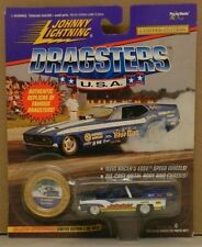 JUKEBOX FORD 1955 55 PRO MOD BLUE 4 DRAG RACING DRAGSTER JL JOHNNY LIGHTNING