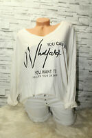 Italy New Collection Shirt Pulli Vintage 36 38 40 42 weiß Mickey Mouse blogger