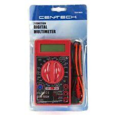 Cen Tech 7 Function Digital Multimeter Acdc Volt Ohm Diode Battery Tester 98025