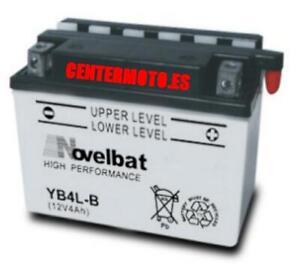 Bateria NOVELBAT YB4L-B   CB4   PB4LB   CB4LB   YB4LB 12V MOTO   24/48H