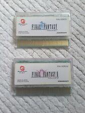 Bandai WonderSwan Color Final Fantasy 1 I 2 II WS