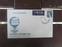 HOT AIR BALLOON MAIL NANCY EXPEDITION WESTWIND 1968 COVER