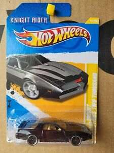 Hot Wheels 2012 - KNIGHT RIDER KITT INDUSTRIES TWO THOUSAND [BLACK] NEAR MINT