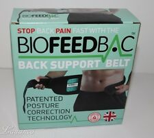 Lumbros Back Support Belt by BIOFEEDBAC - Brand New In Box - Best Seller!