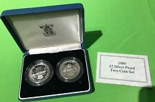 ~Simply Coins~ 1989 SILVER PROOF CLAIM OF RIGHTS AND BILL OF RIGHTS COA BOXED