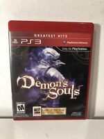 Demon's Souls Sony PlayStation 3 PS3 Complete CIB Tested