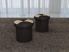 Design Polster Hocker Fußhocker Ottomane Sitz Chaise Gepolstert Pufa FT008