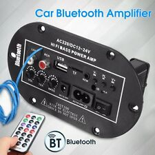 50W Home Car Bluetooth Subwoofer Bass Power AMP Hi-Fi Amplifier Board Audio USB