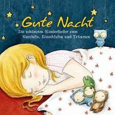 GUTE NACHT-SCHÖNSTE KINDERLIEDER ZUM EINSCHLAFEN++++++++++  CD NEU