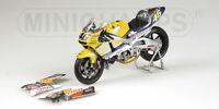MINICHAMPS 122 016146  Honda NSR 500 GP bike Nastro Azzurro  Rossi 2001 1:12th