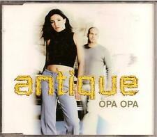 ANTIQUE - opa opa MAXI-CD 3TR Eurodance 1999 (HELENA PAPARIZOU)