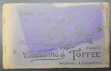 Vintage Renshaw Postcard Album of 40 Views of Manxland, Isle of Man, Complete