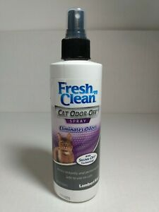 Fresh And Clean Cat Odor Off Spray with (Skunk Off Technology) 8 oz