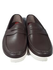 COLE HAAN Hyannis  Men's  Shoes Size 10M Brown Leather Penny Loafer C26467 New