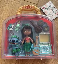 Disney Lilo & Stitch Animator Collection Mini Doll Playset BNWT BNIB