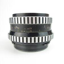 Carl Zeiss Jena Zebra Biometar 2.8/80 Objektiv lens defekt spare parts