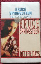 Bruce Springsteen - Better Days/Tougher Than The Rest - CASSETTE Single - SEALED