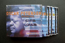 4 CD BOX SET-Oscar Peterson-Dimensions-A compendium of the Pablo Years