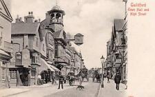 Guildford Town Hall High Street unused pc Stengel Ref B937