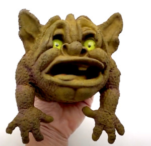Vintage Boglins Shlurp Toy Small Hand Puppet Figure Seven Towns Rare Damaged