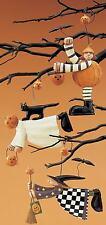 Halloween Ornaments - 3 Styles - Williraye - 6033 - New