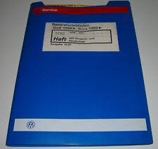 Werkstatthandbuch VW Golf 4 IV Typ 1J Bora 4 AV Einspritzanlage Zündanlage AHW