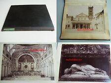 Album mit 7 Fotos um 1875 / Domenico oder JAMES ANDERSON / Santa CECILIA (Rom)
