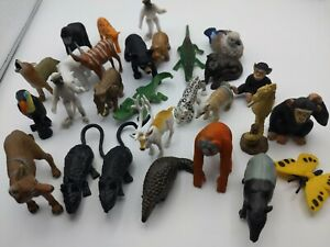 Mini Animal Toy Lot of 28 toy animals