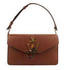 JW Anderson Anchor Logo TAN color Leather Shoulder Bag
