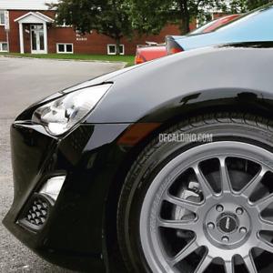 For BRZ FR-S 86 Reflector Dark Tint Overlay Kit - Scion Toyota Sub Smoke Marker