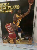 Beckett Basketball Card Magazine issue #3 July/ August 1990 Magic Johnson cover