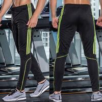 US Men Long Sports Pants Gym Hip Hop Trousers Running Jogger Gym Sweatpants X234
