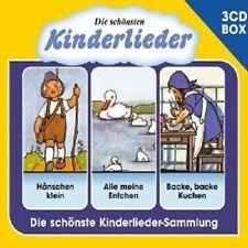 DIE SCHÖNSTEN KINDERLIEDER - 3-CD LIEDERBOX VOL. 1 (3 CD) ++++++58 TRACKS+++ NEW