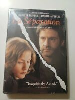 *La Separation* DVD LANGUAGE FRENCH w/ENGLISH SUBTITLES ) New Sealed