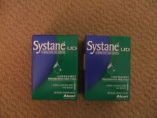 Systane Eye Drops. 2 x Factory Sealed Boxes (28 each box)