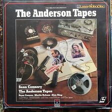 The Anderson Tapes -  Laserdisc - NIB NEW SEALED