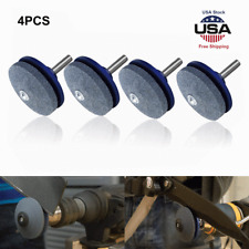 4X Universal Lawnmower Blade Sharpener Lawn Mower for Any Power Drill Hand Drill