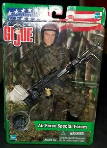 """12"""" GI JOE AIR FORCE SPECIAL FORCES 1/6 81921 ACTION FIGURE DML ULTIMATE SOLDIER"""