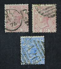 CKStamps: Great Britain Stamps Collection Scott#66-68 Victoria Used