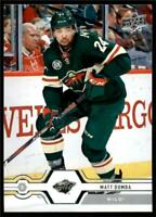 2019-20 UD Series 1 Base #127 Matt Dumba - Minnesota Wild