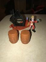 Jake and The Never Land Pirates Captain Hook's Sailwagon Fisher Price Disney 4@