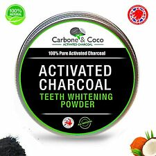 Carbone & Coco™ 100% Pure Charcoal Activated Teeth Whitening - PURE CHARCOAL