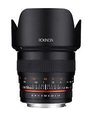 New Rokinon 50mm F1.4 Full Frame Lens for Canon EF Digital SLR Cameras